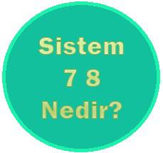 sistem 7 8